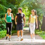 Tăng cường sức khỏe bằng đi bộ