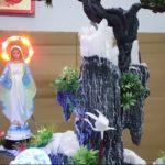 Hòn Non Bộ để bàn Mẹ Maria