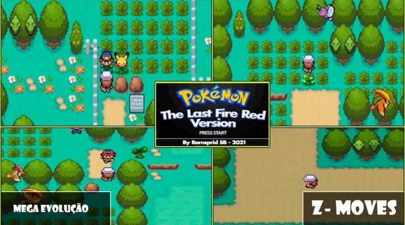 Giới thiệu Pokemon The Last Fire Red - GBA - Download