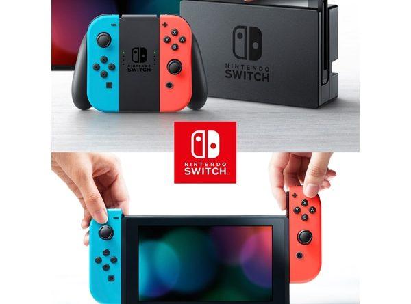 Review Máy Chơi Game Nintendo Switch Với Neon Blue Và Red Joy‑Con (Xanh Đỏ) Model Mới
